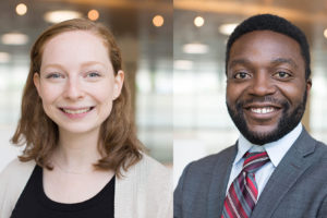 As incoming students last year, 2L students Megan Lipsky and Chiemeka Onwuanaegbule participated in the inaugural class of RISE, a program for applicants from historically underrepresented backgrounds. This year, 67 incoming J.D. students will participate in the pre-Orientation from August 18 to 23.