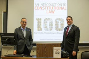"Georgetown Law Professor Randy Barnett and Professor Josh Blackman of the South Texas College of Law have published a book and video series, ""An Introduction to Constitutional Law: 100 Supreme Court Cases Everyone Should Know"" (Wolters Kluwer, September 2019)."