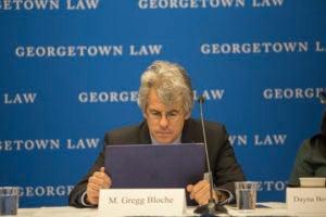 Professor M. Gregg Bloche.