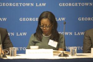 Photo of Professor Dayna Bowen Matthew of University of Virginia School of Law.