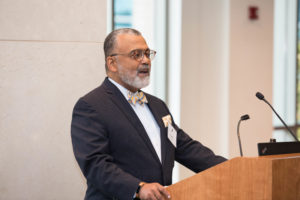 Executive Director Mark Gaston Pearce, former chair of the National Labor Relations Board, chairs Georgetown Law's new Workers' Rights Institute.