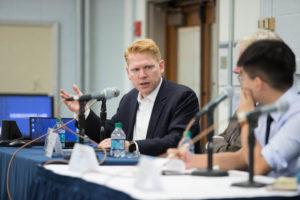 Adjunct Professor Tom Kellogg of Georgetown Law's Center for Asian Law.
