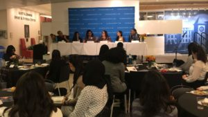 Women of Color panel during Intersectionality Week November 5.