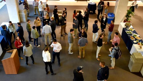Cohort 3 meets mentors in Cohorts 1 and 2, January 2020