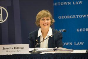 Georgetown Law Professor Jennifer Hillman