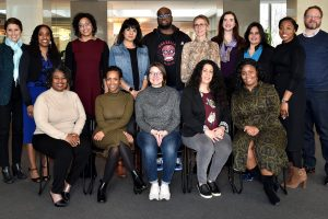 The 2020 Ambassadors for Racial Justice cohort gathered at Georgetown Law over MLK weekend.
