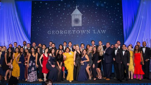 5th Reunion Class Photo at the Georgetown Law Reunion Gala on Saturday, October 19, 2019.