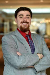 Business headshot of Luke Stegman
