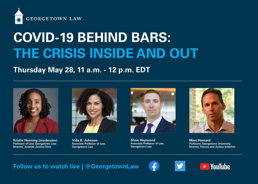 This is a banner image of the May 28 event with Kris Henning, Vida Johnson and Shon Hopwood