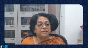 Screenshot of Indian Supreme Court Justice Indu Malhotra