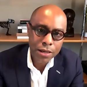 Professor Aderson François speaking
