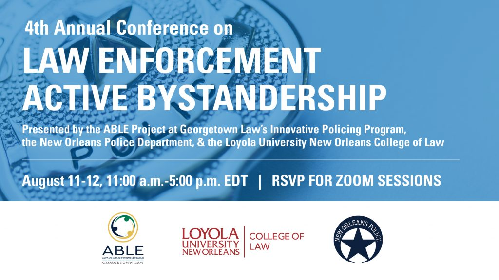 4th Annual Conference on Law Enforcement Active Bystandership