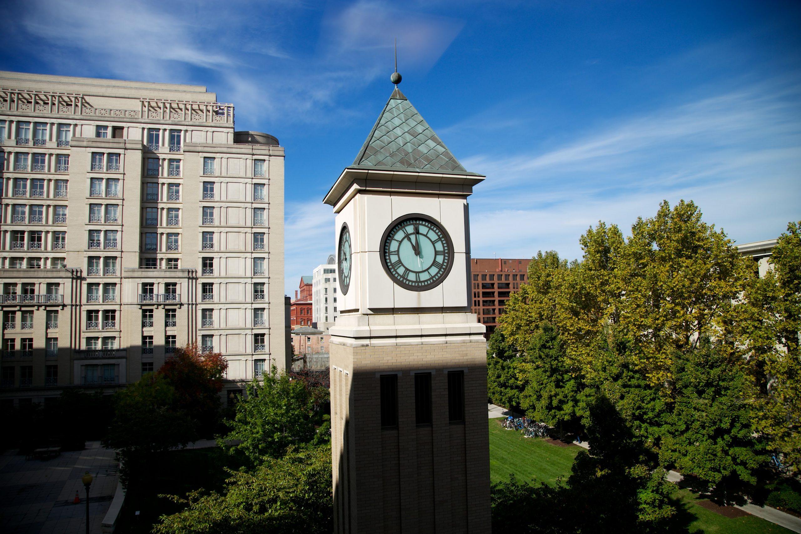 Georgetown Law Clocktower